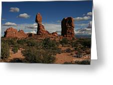 Balanced Rock Greeting Card