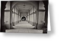 Balboa Park Archways Greeting Card