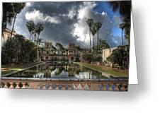 Balboa Park Fountain Greeting Card
