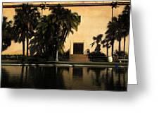 Balboa Pond Greeting Card
