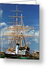 Balclutha Mast And Rigging Greeting Card