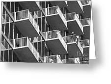 Balcony Colony Greeting Card