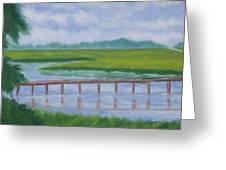 Bald Head Island Marsh Greeting Card