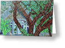 Bald Head Island, Village Chapel Greeting Card