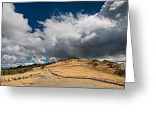 Bald Hills In Summer 2 Greeting Card