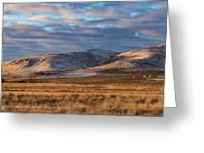 Bald Mountain At Dawn 2 Greeting Card