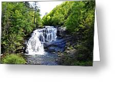 Bald River Falls Swimming Hole 2 Greeting Card