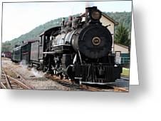 Baldwin Locomotive Number Fifteen Greeting Card