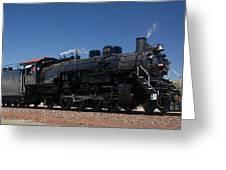 Baldwin Mikado 2-8-2 No 4960 Steam Locomotive Williams Arizona Greeting Card