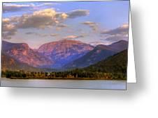 Baldy Shadow Mountain Lake Greeting Card