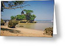 Balekambang Beach Greeting Card