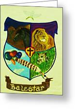 Balestar Crest Greeting Card