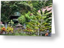 Bali Gardens Greeting Card