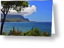 Bali Hai Hawaii Greeting Card
