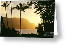 Bali Hai, Yellow Greeting Card