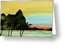 Bali Hi Kauai Greeting Card