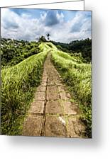 Bali Landscape 4 Greeting Card