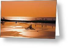 Bali, Sunset Greeting Card