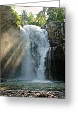 Bali Waterfalls Too Greeting Card