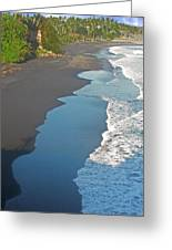 Bali Western Shore Greeting Card