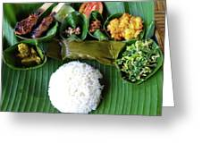 Balinese Traditional Lunch Greeting Card