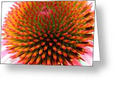 Ball Of Fire Greeting Card