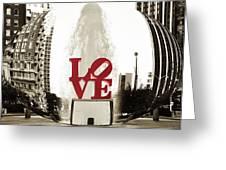 Ball Of Love Greeting Card