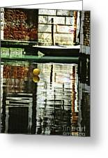 Ball On A Canal In Venice Greeting Card