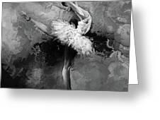 Ballerina 09912 Greeting Card