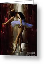 Ballerina 0xd09 Greeting Card