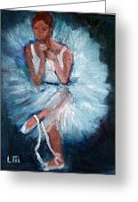 Ballerina 2 Greeting Card