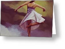 Ballerina Dance 0391 Greeting Card