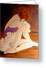 Ballerina04 - Acrylic Greeting Card