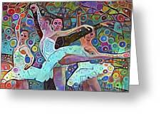 Ballet Carnival Greeting Card