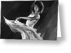 Ballet Dance 0905 Greeting Card