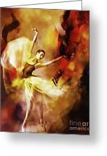 Ballet Dance 3390 Greeting Card