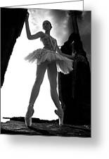 Ballet Dancer1 Greeting Card