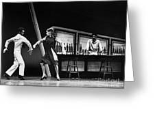 Ballet Fancy Free C1970 Greeting Card