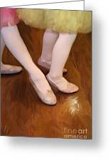 Ballet Girls Greeting Card