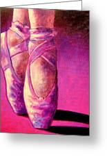 Ballet Shoes  II Greeting Card