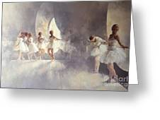 Ballet Studio  Greeting Card