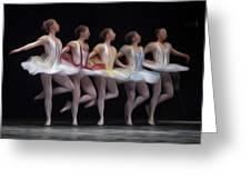Ballets Greeting Card