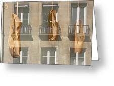 Ballet_shoes Greeting Card