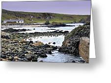 Ballintoy Cottage Greeting Card