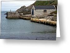 Ballintoy Quayside Greeting Card