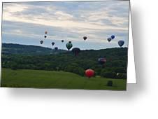 Ballon Festival  Greeting Card