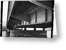 Ballona Creek Bridge Greeting Card