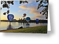Balloon Ballet Greeting Card