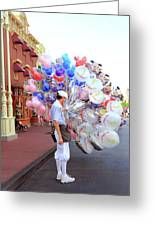 Balloon Boy Greeting Card