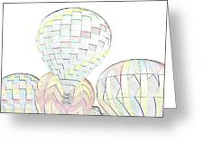 Balloon Day Greeting Card